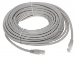 Patchcord UTP cat.5e, 20m szary