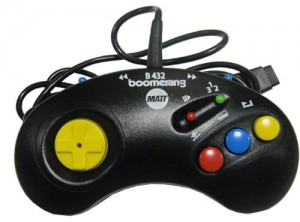 Joypad BOOMERANG B432L (do konsoli Amiga CD 32)