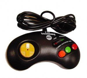 Joypad BOOMERANG B103L (do Amiga, Atari, Commodore)