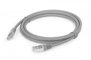 Kabel LAN FTP cat.6 szary 2m