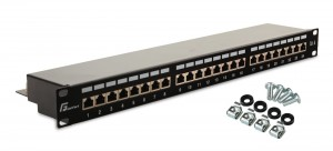 Patch Panel FTP CAT.6 24-portowy GETFORT