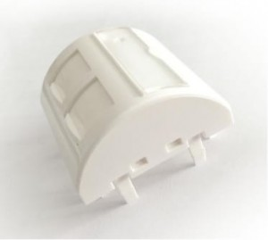 Adapter 45x45 mm do modułów 2xRJ45 keystone